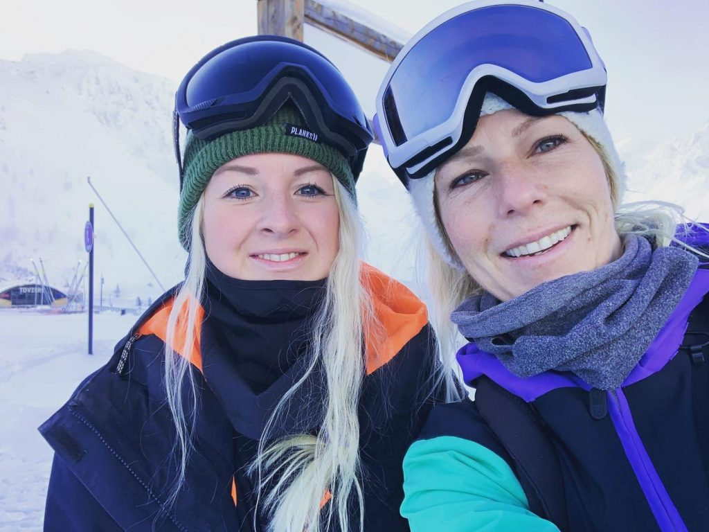 Lauren Spring and Nikki White